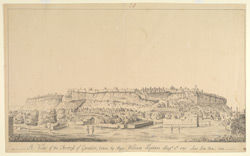 View of the Fortress, Gwalior. 4 August 1780